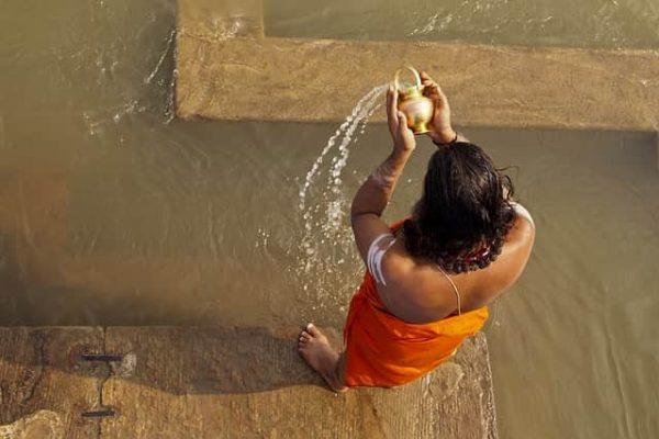 Ganges ashes