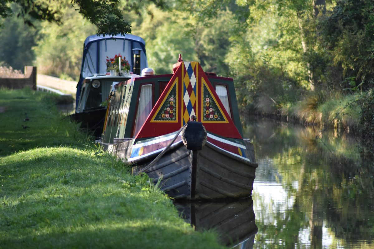 canal boat - what to do with ashes