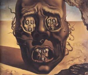 Dali The Face of War