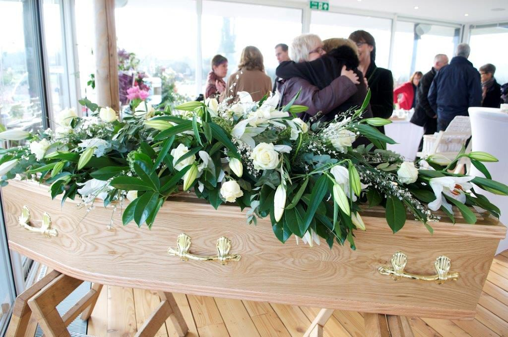 A funeral wake arranged by Dandelion Farewells