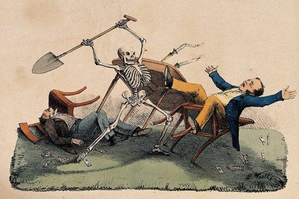 A skeleton takes his revenge