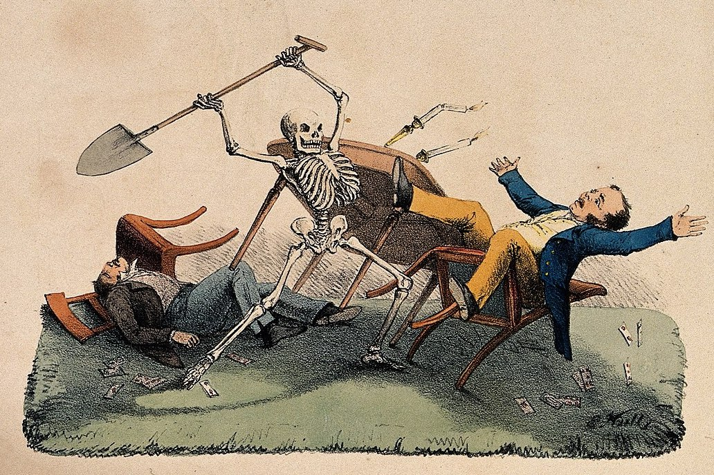 A skeleton takes his revenge