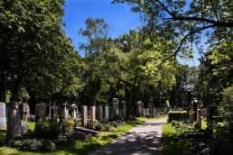 non-religious funeral